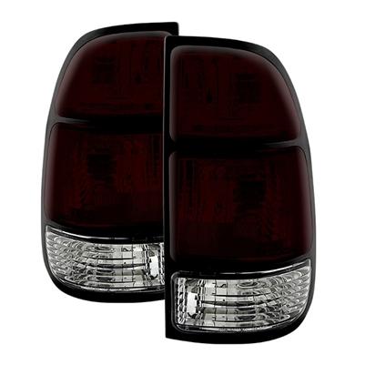 2000 2003 Toyota Tundra Oem Style Tail Lights Dark Red